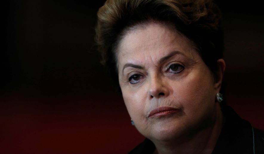 Brazil's Rousseff Vows to Fight against Senate Impeachment Trial (1)