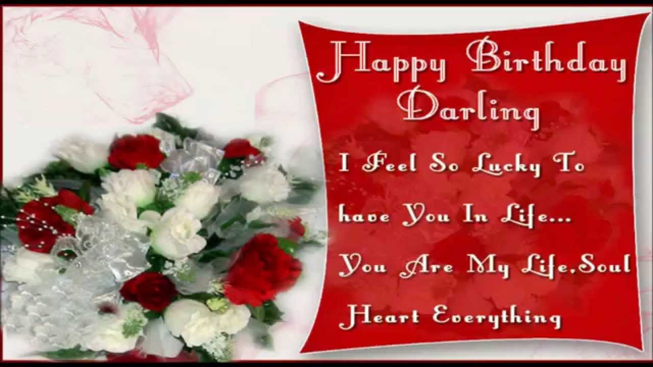 Best Wishes For Birthday Girl Friend : Happy birthday wishes messages for boyfriend and