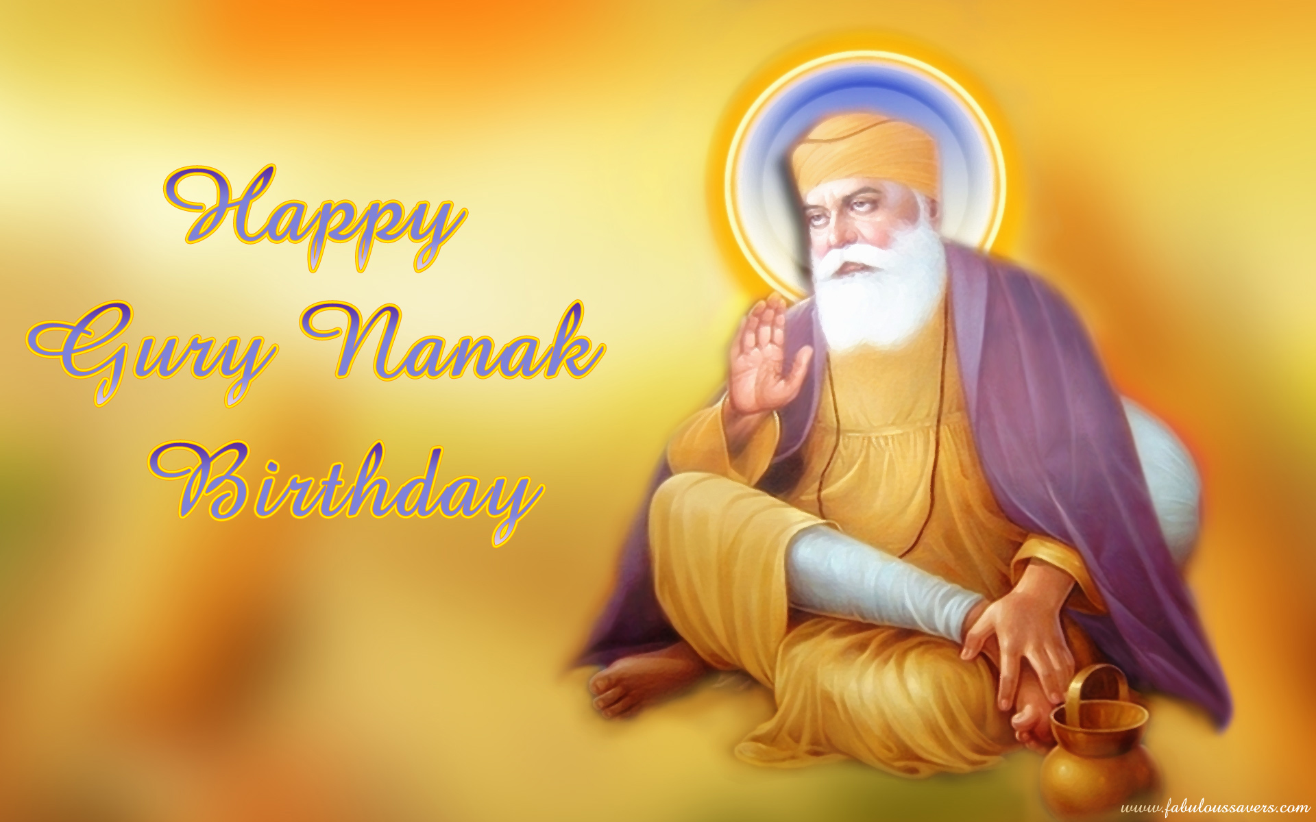 Guru Nanak Jayanti 2015 Birthday Greetings Gurpurab 2015