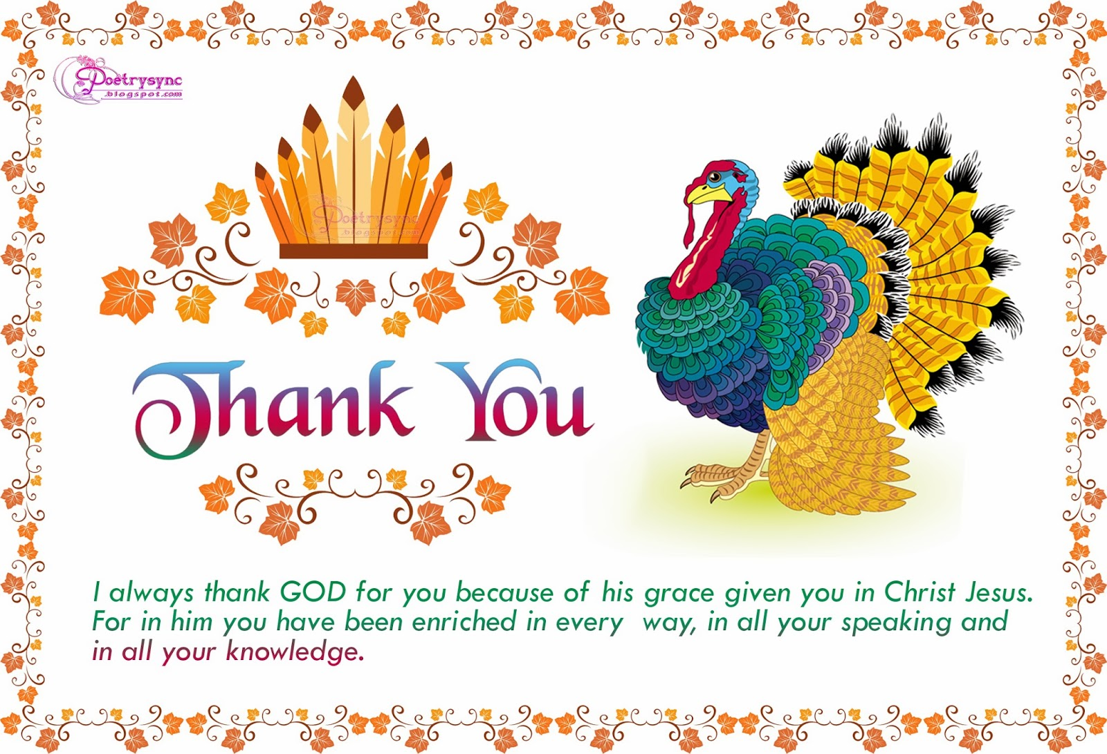 Thanksgiving Day Wishes, Quotes, Sayings, Messages, SMS, Greetings ...