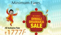 Fly In The air with Air India's Low Cost Diwali Dhamaka Scheme