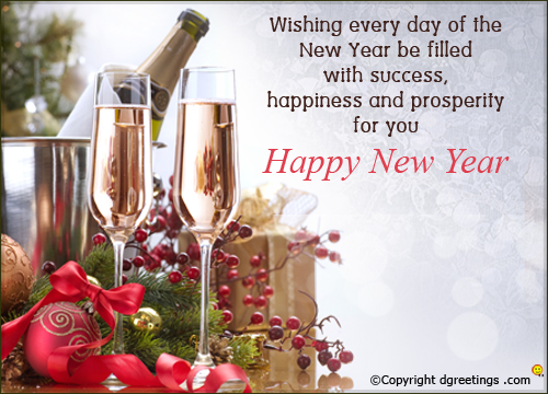 Happy New Year Wishes, Quotes, Sayings, Messages, SMS, Greetings ...