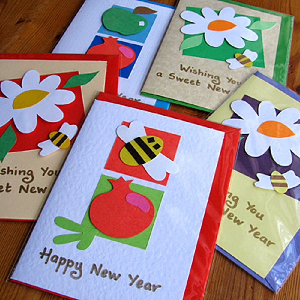 Easy to make homemade new year greeting cards daily roabox new year greeting cards m4hsunfo