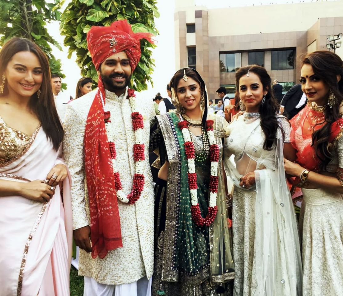 Rohit Sharma's Wedding Reception