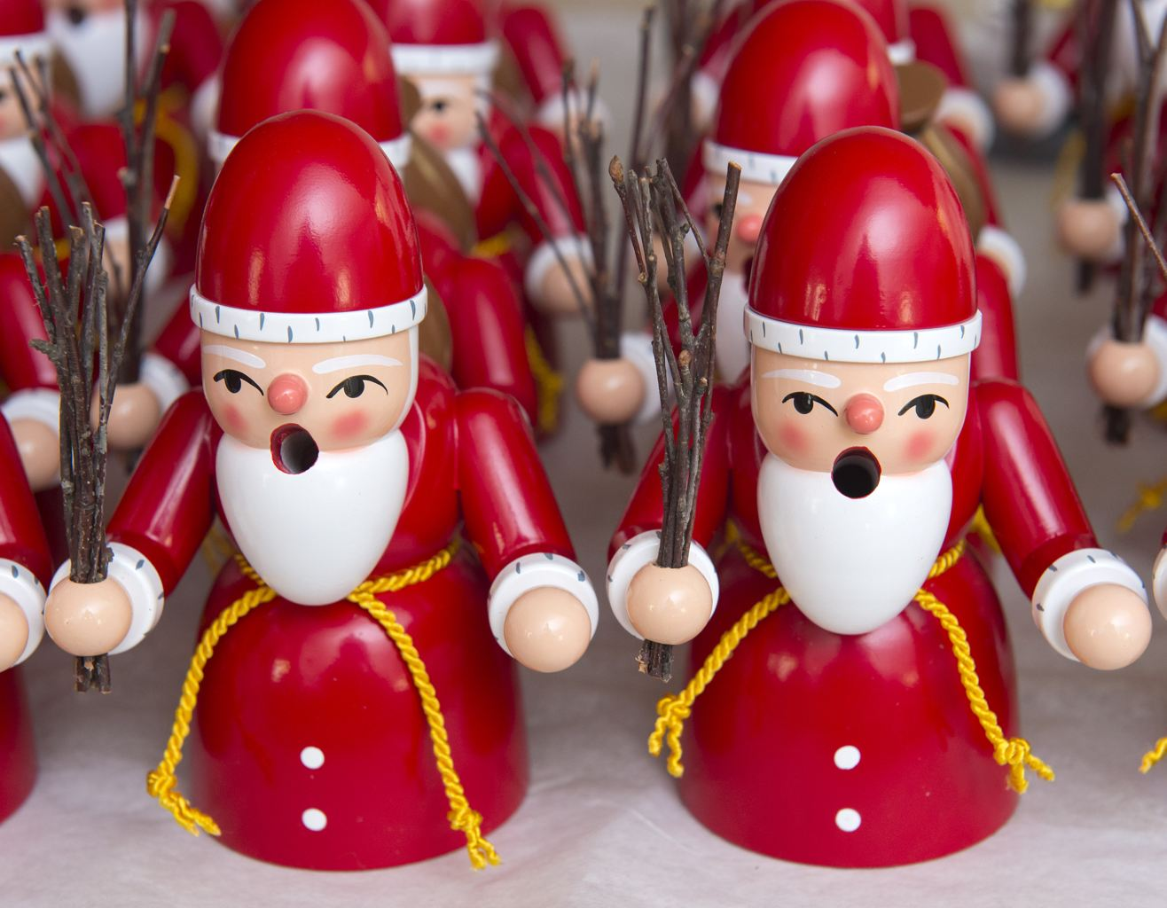 Tradition Wooden Santa Claus