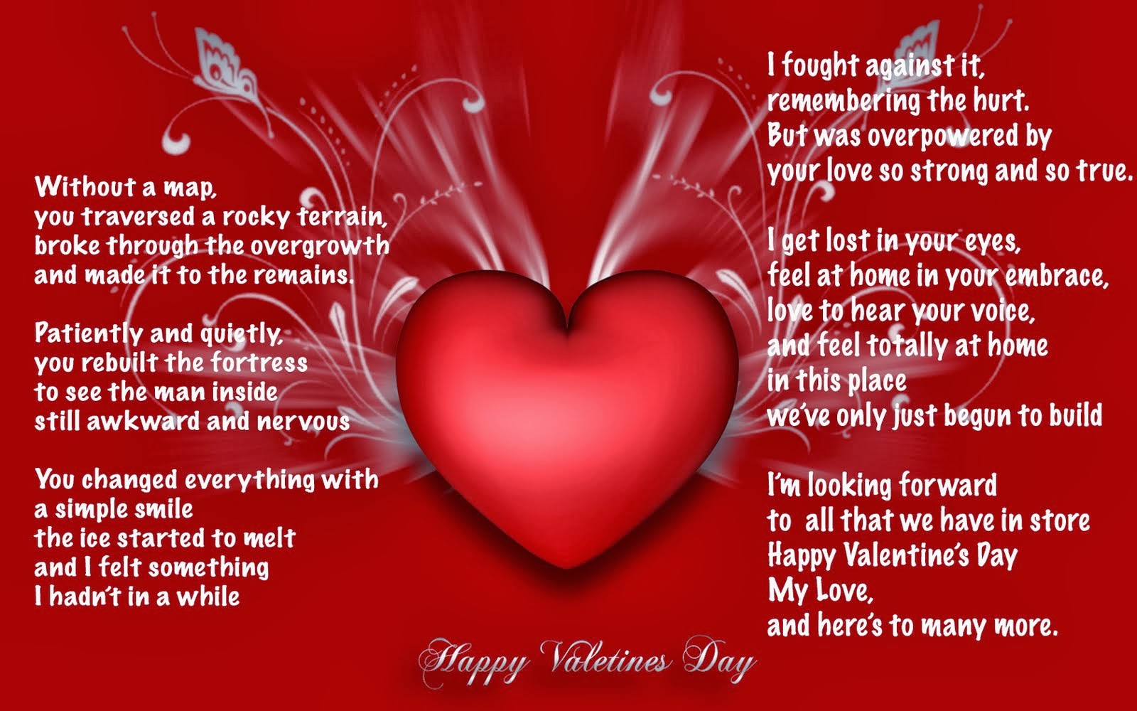Happy Valentines Day Love Wishes For Boyfriend Daily Roabox
