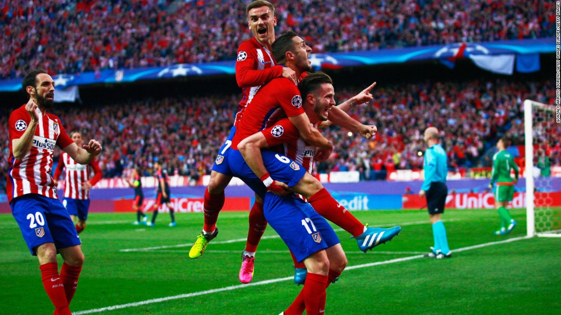Champion League, Atletico Madrid Stunned Bayern Munich