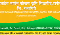 Dr. Balasaheb Sawant Konkan Krishi Vidypeeth recruitment 2016, for 11 posts of Data Manager, senior research Fellow & Technical Assistant