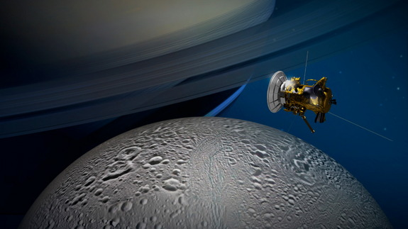 Scientists to Explored Saturn's icy Moon for Alien Life (1)