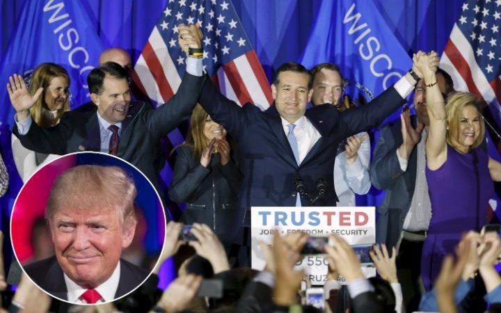 Ted Cruz wins in Wisconsin Primary, Defeats Donald Trump