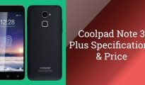 Coolpad Note 3 Plus launched in India at Rs. 8,999