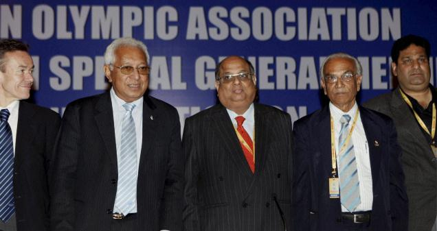 Indian Olympic Association (IOA) Goodwill Ambassador Sachin Tendulkar