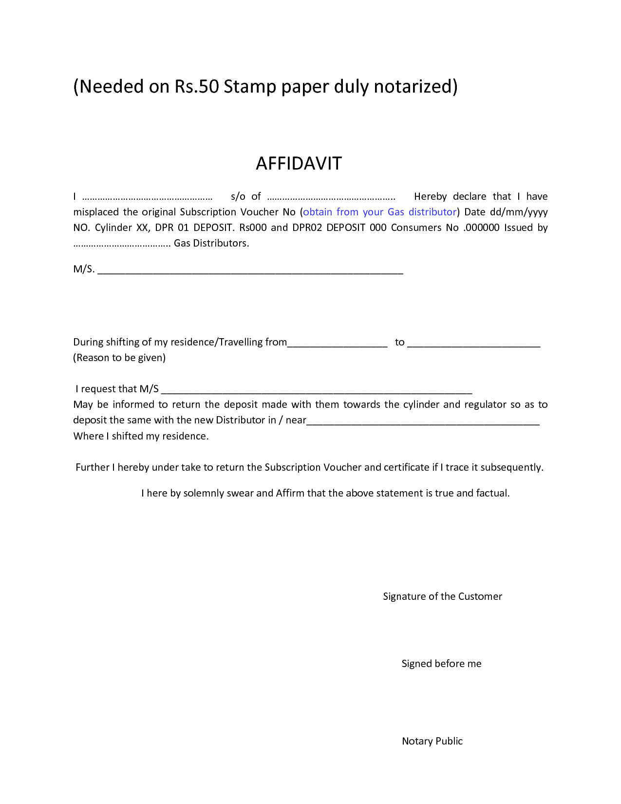 Affidavit Formats free party invitation template word direct – Affidavit Sample Format