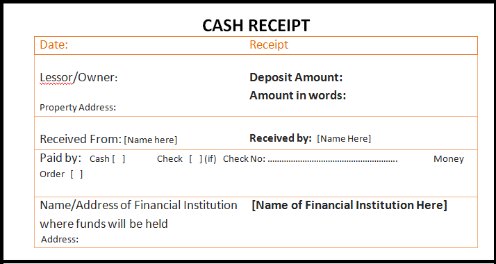 free cash receipt template in word excel pdf format daily roabox