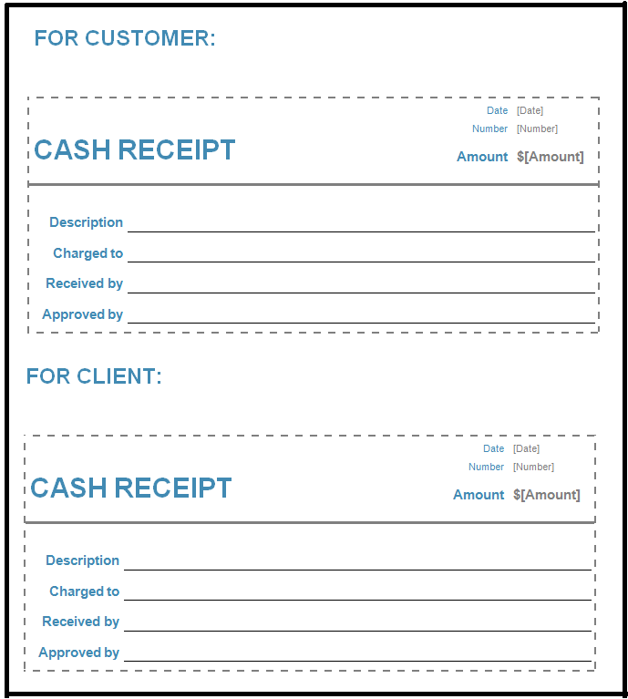 Free cash receipt template in word excel pdf format daily roabox cash receipt template word publicscrutiny Gallery