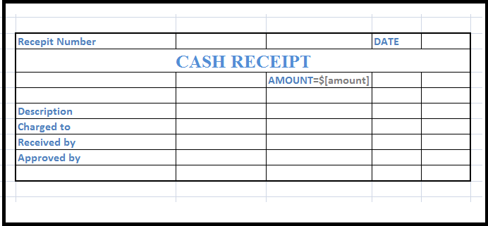 Free Cash Receipt Template in Word Excel PDF Format – Cash Receipt Sample