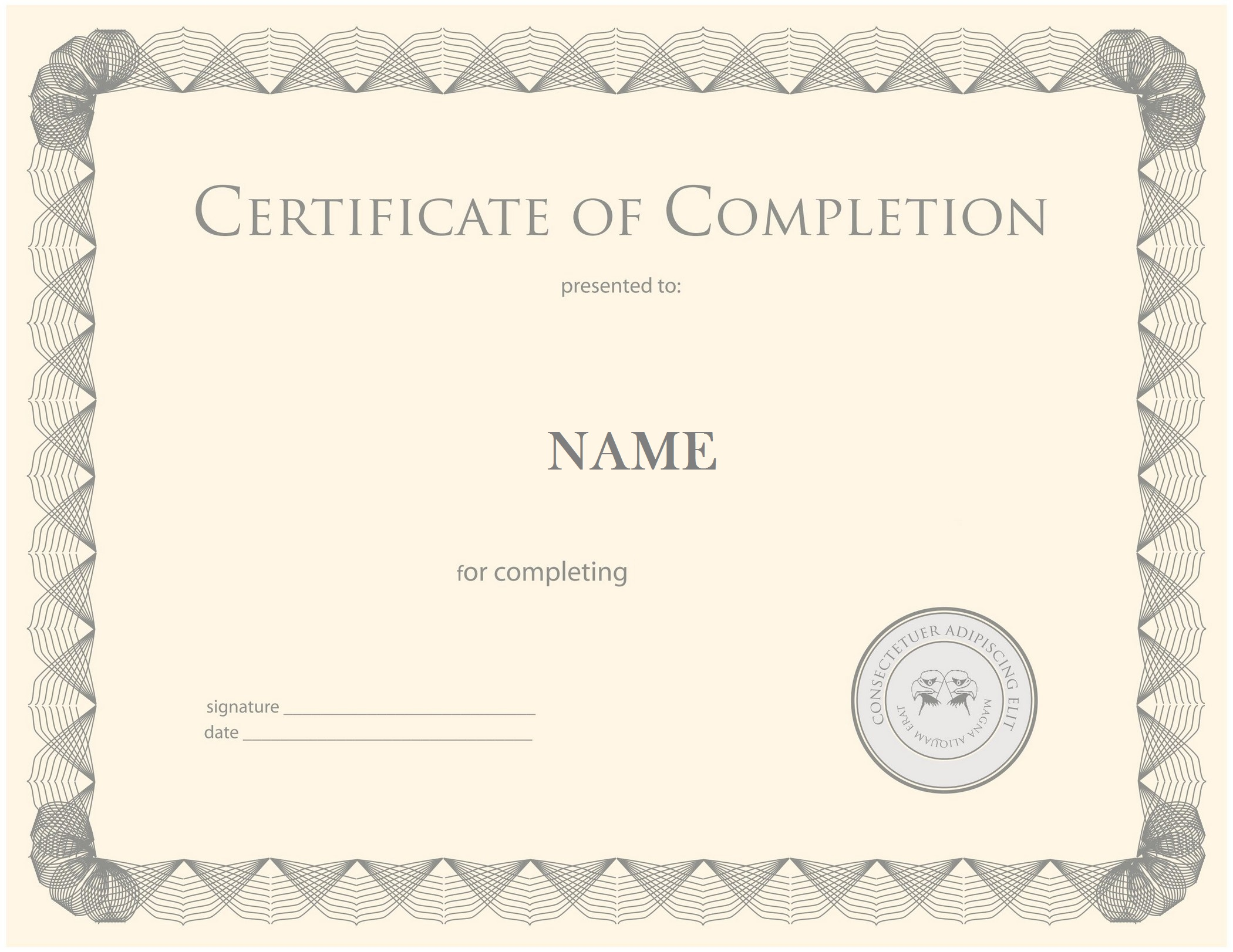 Free printable certificates templates word sample daily roabox certificates templates psd yadclub Image collections