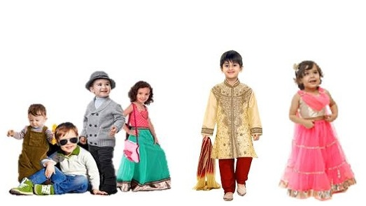 Diwali Dresses for Kids