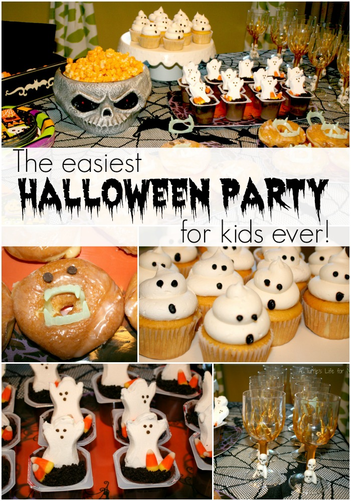 halloween birthday party ideas - Halloween Birthday Party Ideas