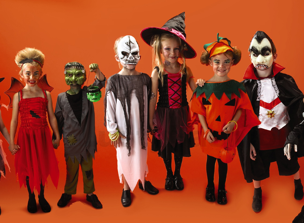 Halloween costumes for kids scary halloween outfits for Homemade halloween costumes for kids