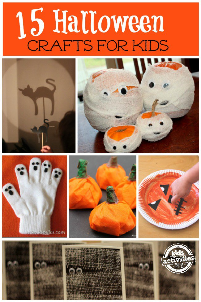 Halloween craft making ideas halloween crafts for for How to make homemade halloween crafts
