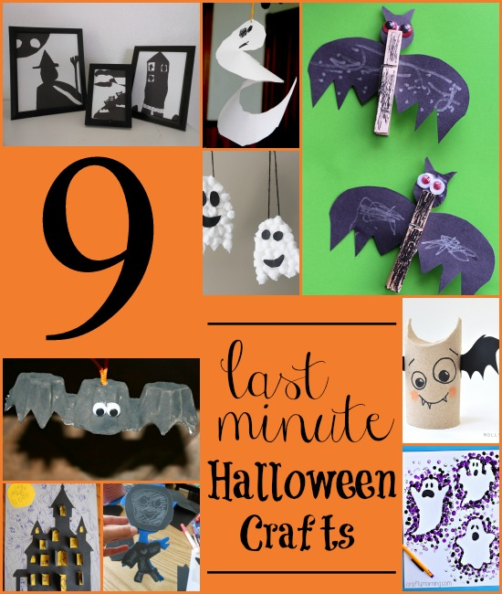 Halloween craft making ideas halloween crafts for for Halloween decorations crafts to make