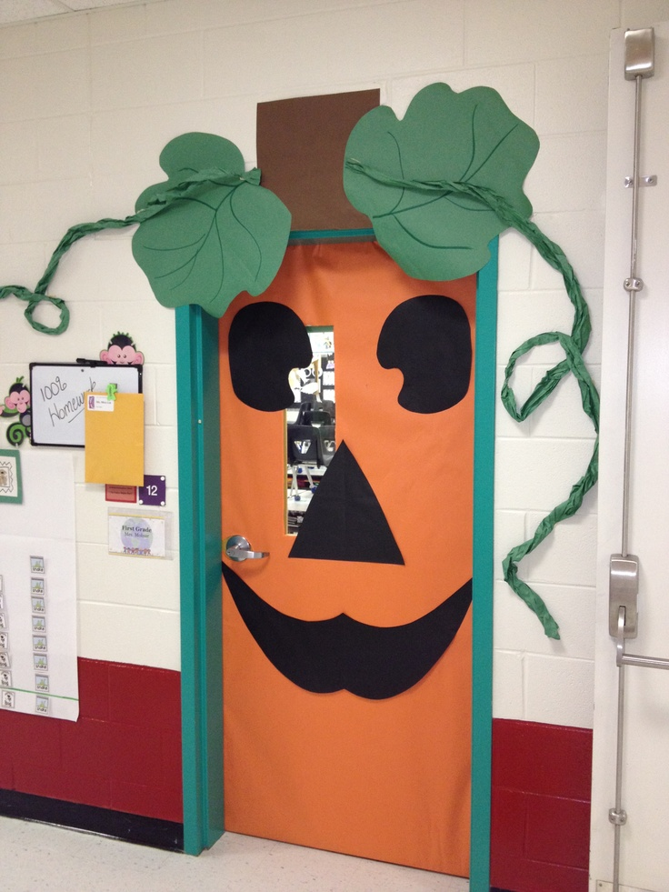 cute halloween outdoor decorations - Cute Halloween Door Decorating Ideas