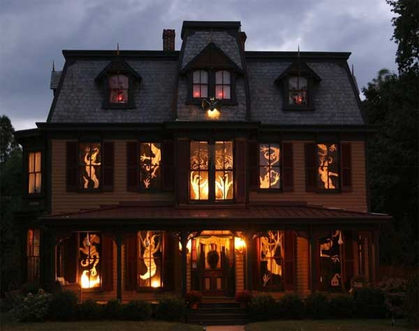 halloween house decorations - Halloween House Pictures