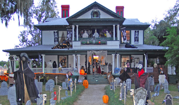 halloween house decorations - Halloween House Decorations