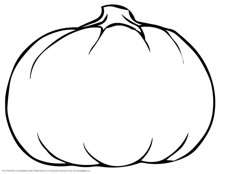 Halloween pumpkins coloring pages for Pumpkin coloring pages free printable