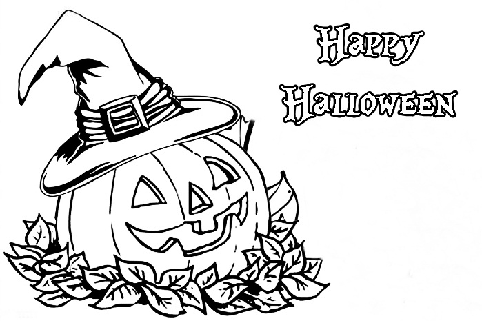 Trick Or Treat Bag Coloring Pages