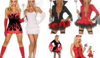 Sexy Devil Halloween Costumes