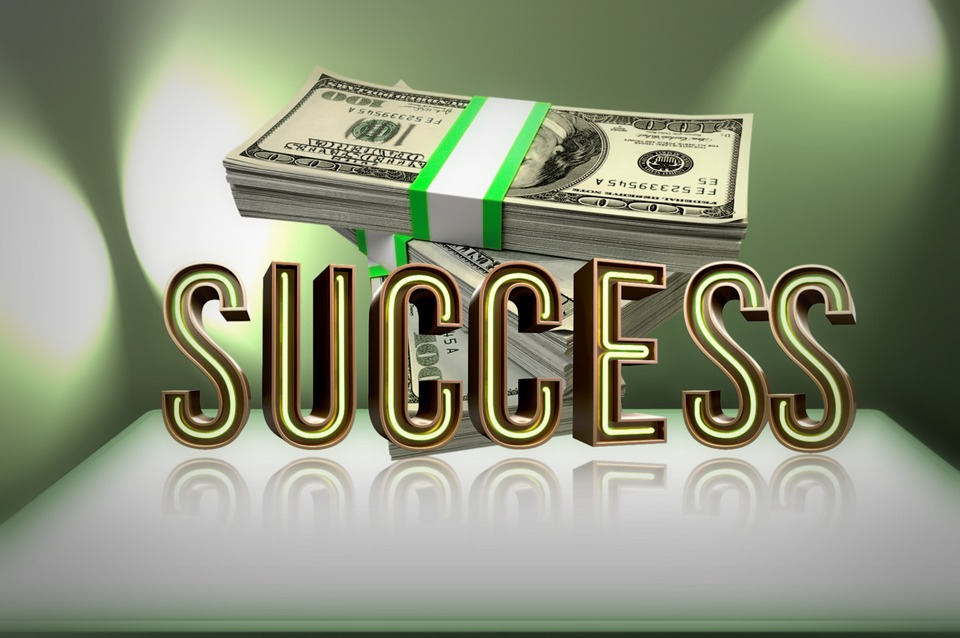 success-with-dollars
