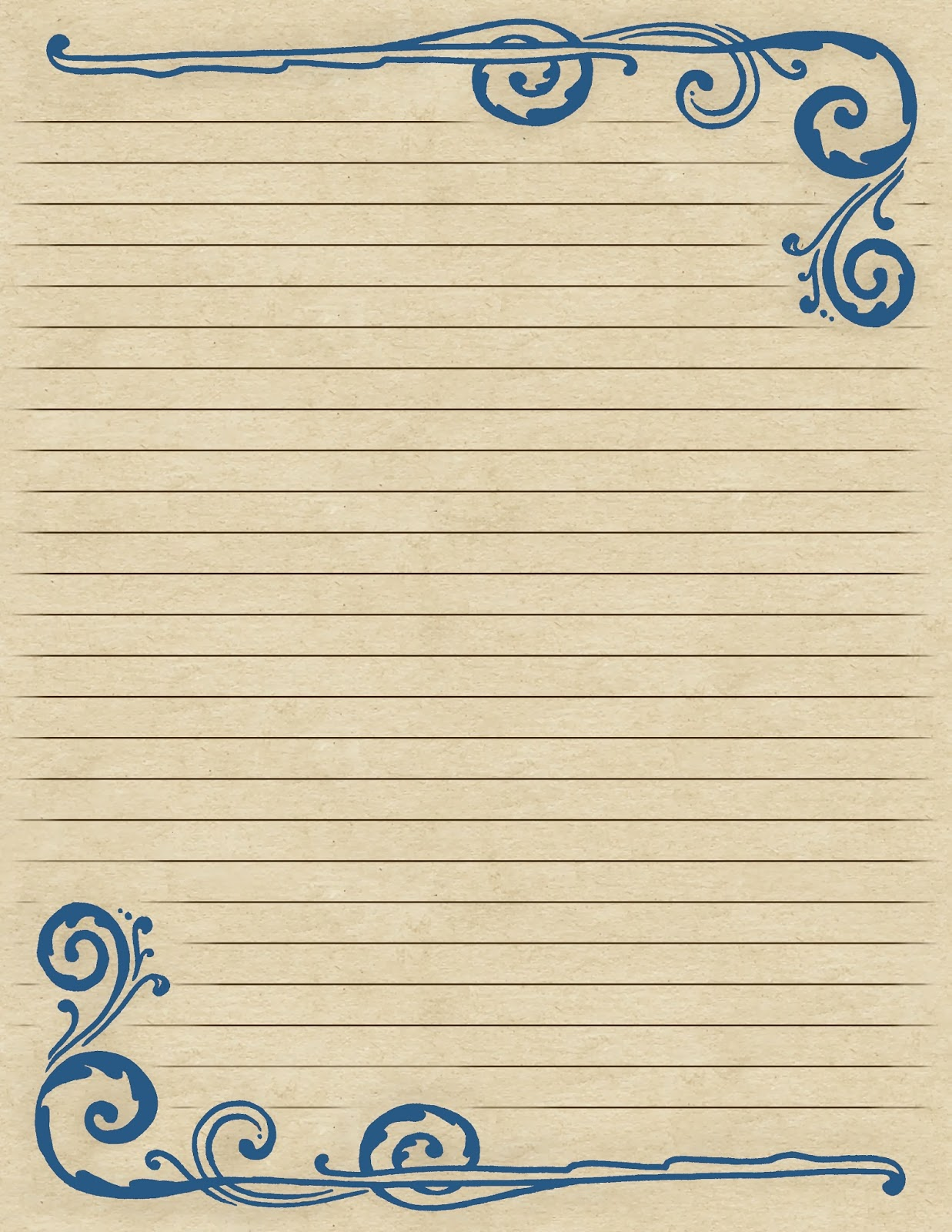 Editable Lined Paper bridal party list template sample internal – Lined Paper Word Template
