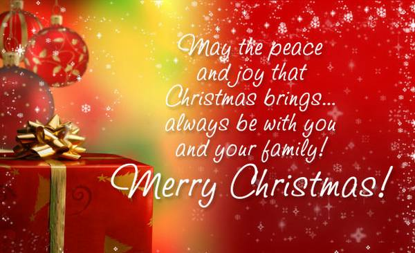 100+ Best Merry Christmas Quotes - Sayings & Images | Daily Roabox