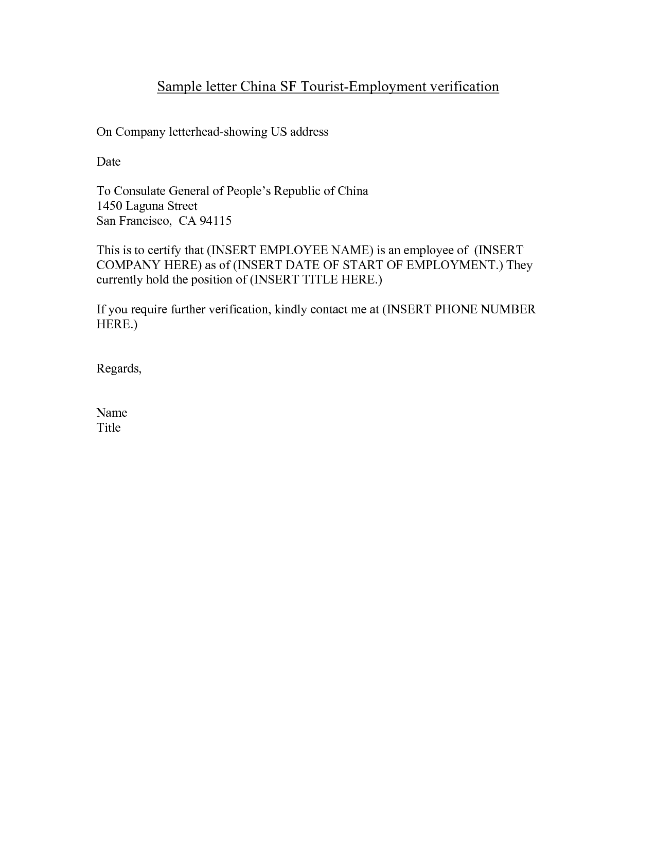 Verification Letter From Employer from dailyroabox.com