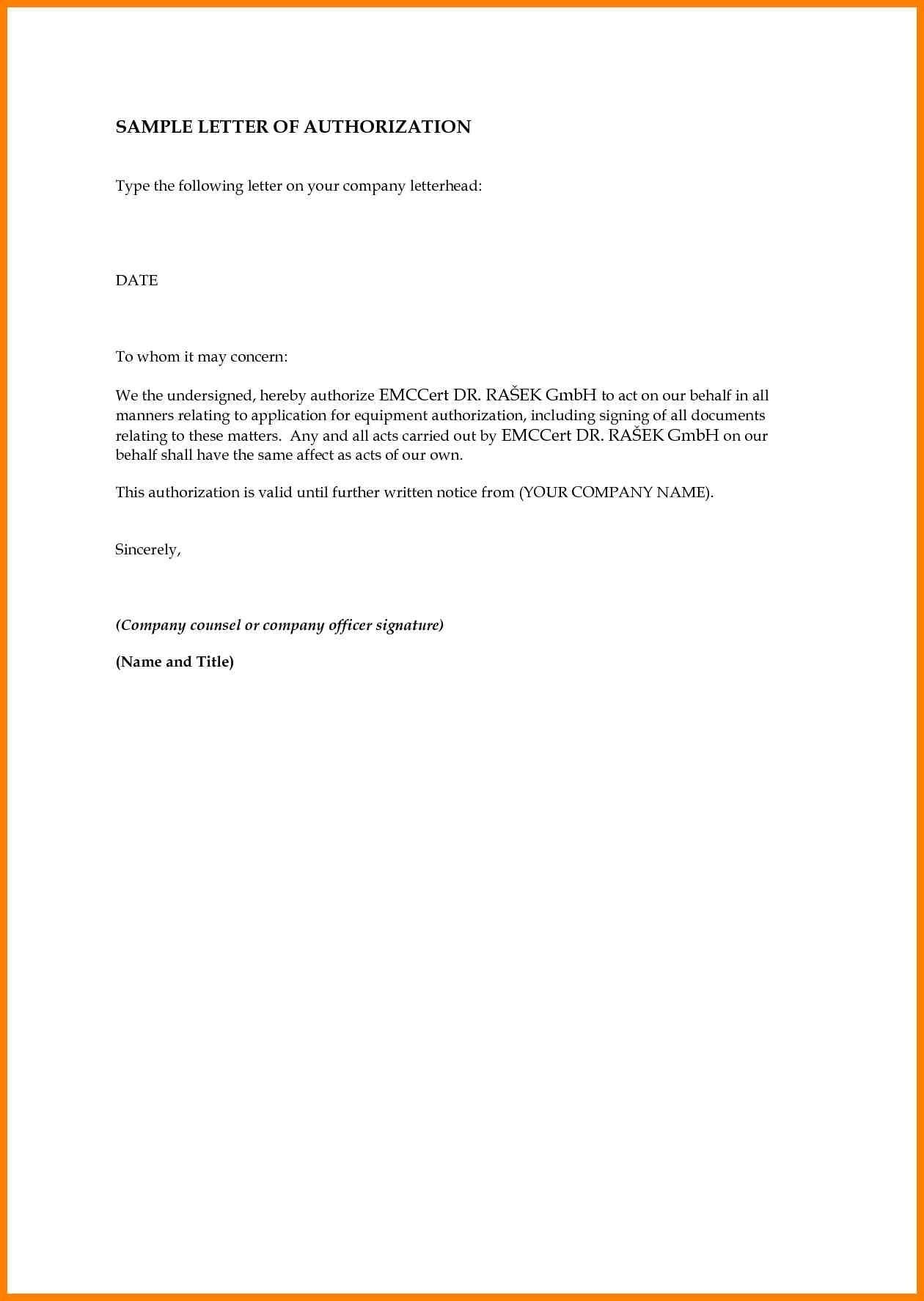 Authorization Letter To Sign On Behalf Of Company from dailyroabox.com